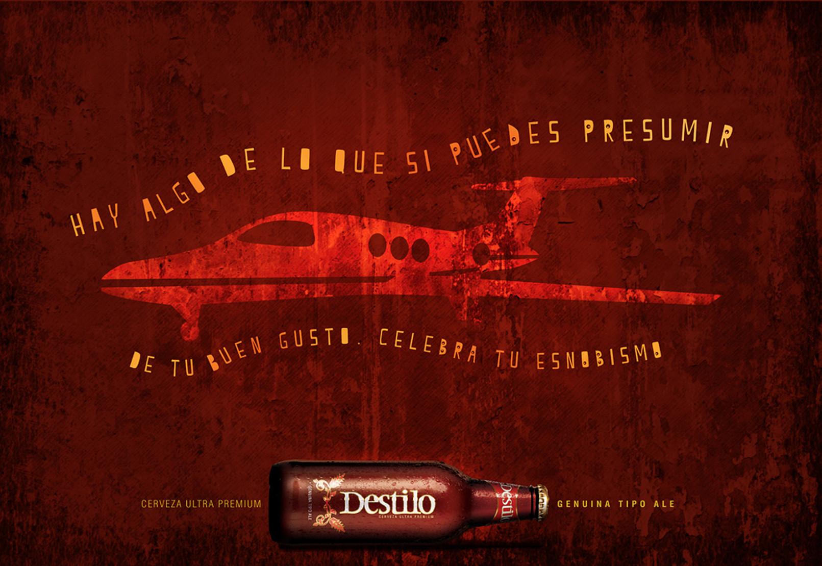 Campaña Lanzamiento Cerveza Destilo