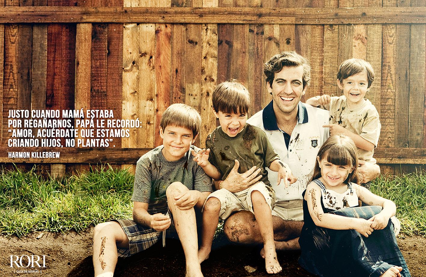 Campaña Día del Padre Rori